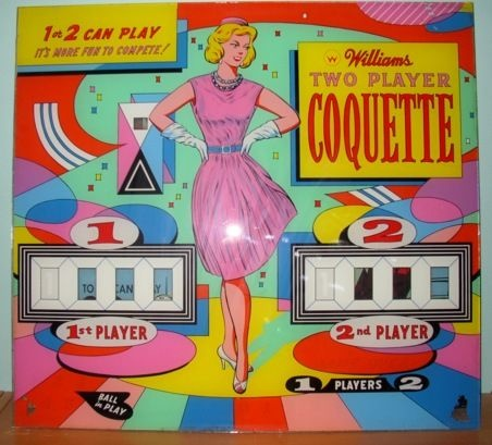 Coquette Pinball Mods