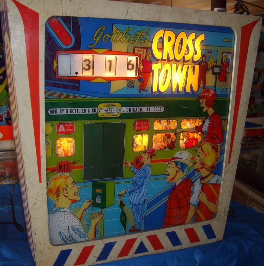 Cross Town Pinball Mods