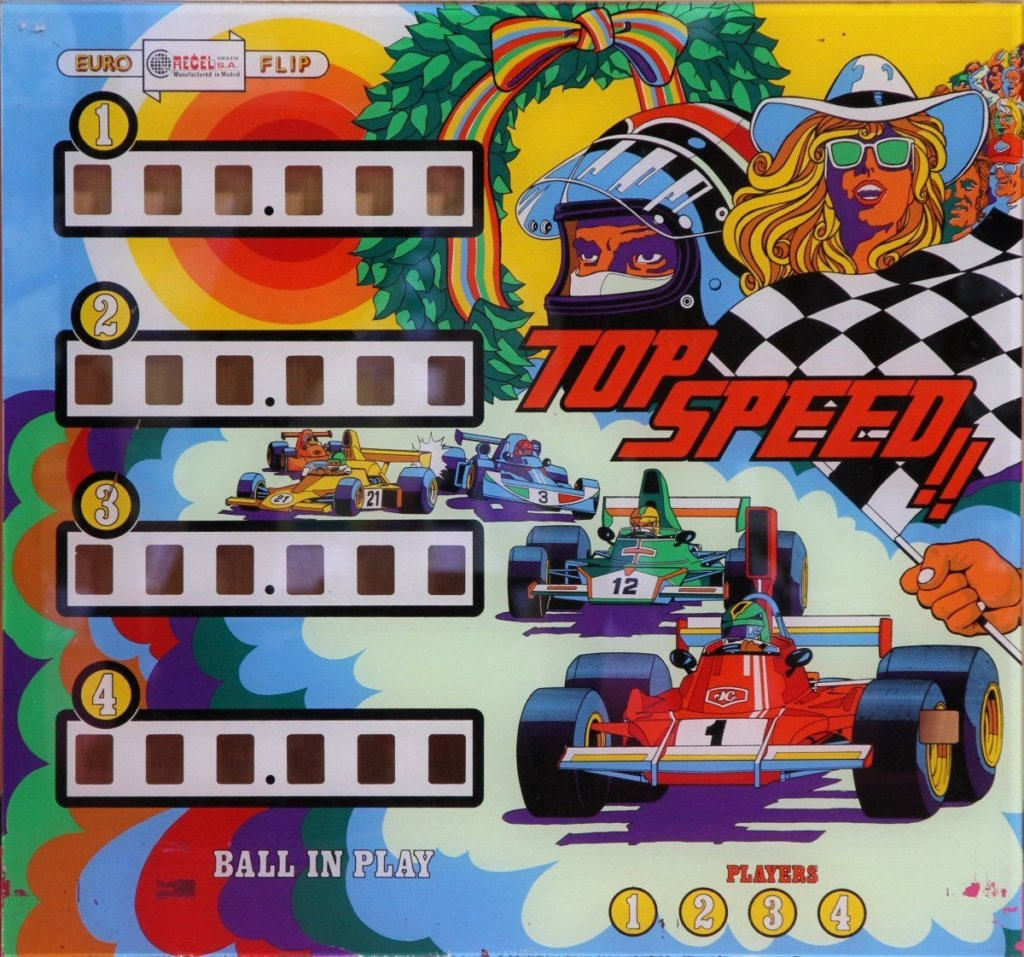 Top Speed Pinball Mods