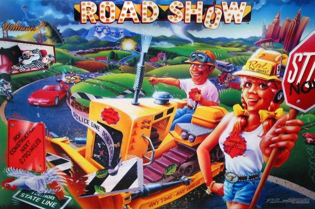 Road Show Pinball Mods