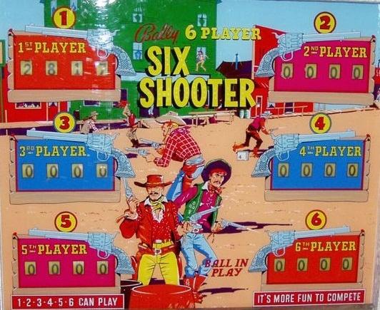 Six Shooter Pinball Mods