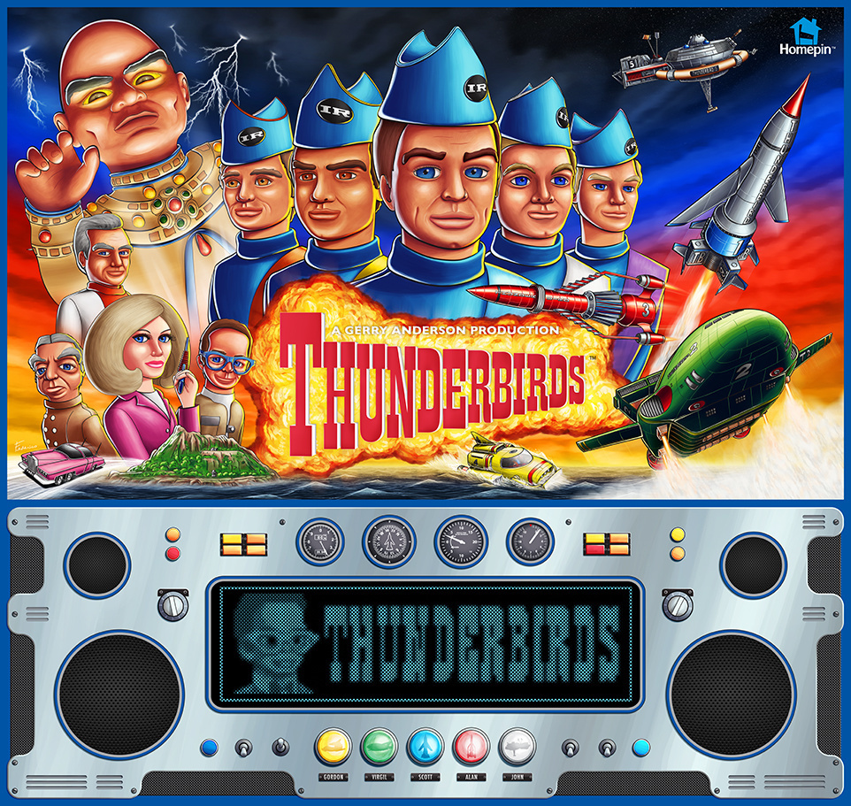 Thunderbirds Pinball Mods
