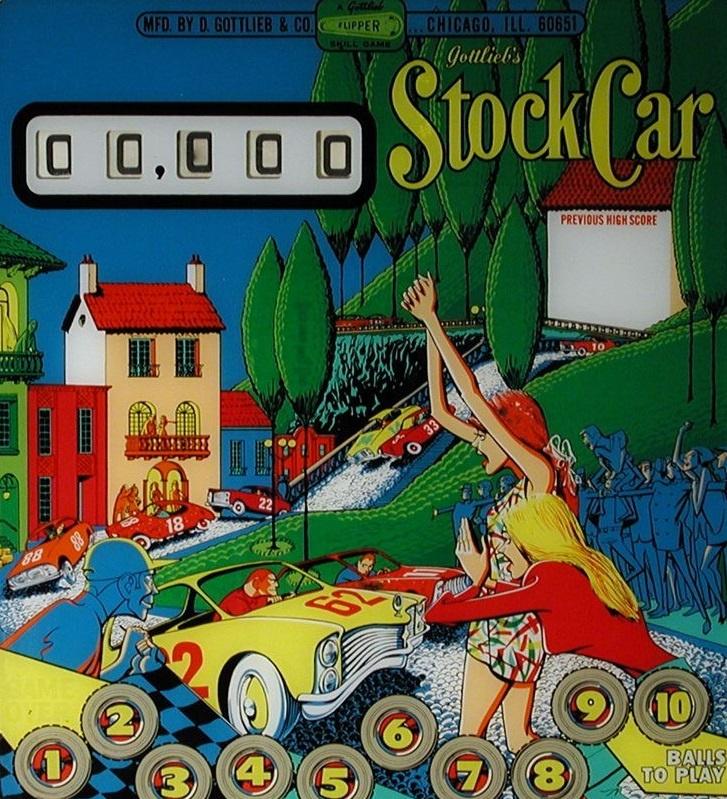 Stock Car Pinball Mods