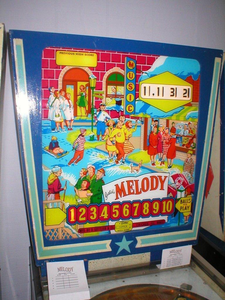 Melody Pinball Mods