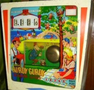 Hurdy Gurdy (Italy) Pinball Mods