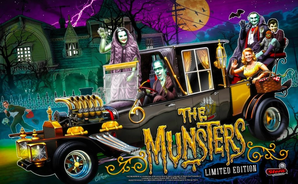 Munsters (Limited Edition) Pinball Mods