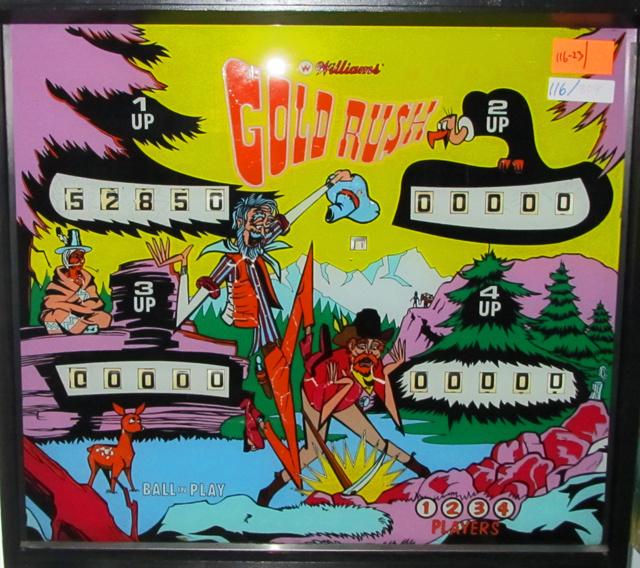 Gold Rush Pinball Mods