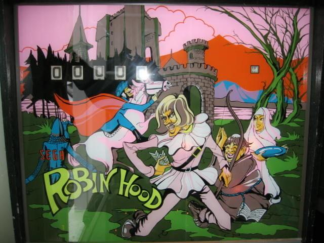 Robin Hood Pinball Mods