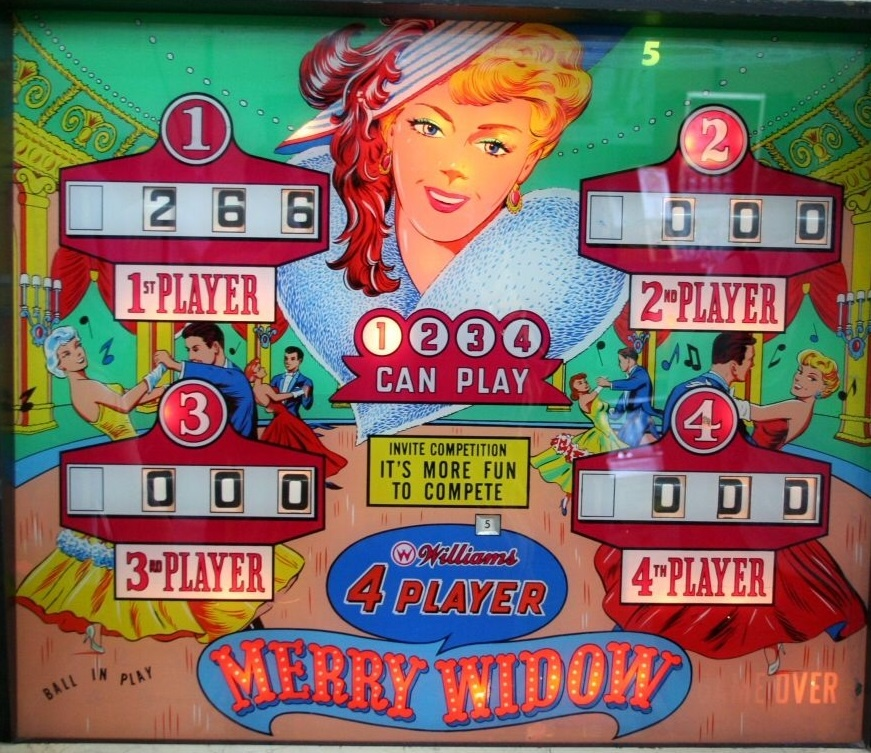 Merry Widow Pinball Mods