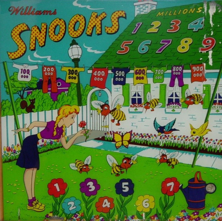 Snooks Pinball Mods