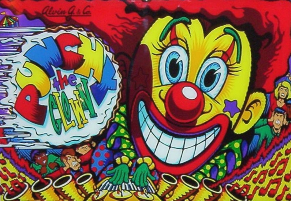 Punchy the Clown Pinball Mods