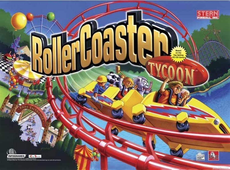 RollerCoaster Tycoon Pinball Mods