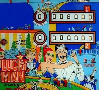 Lucky Man Pinball Mods