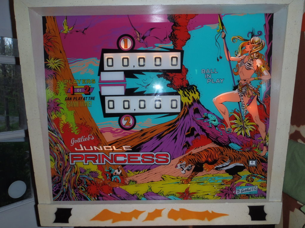 Jungle Princess Pinball Mods