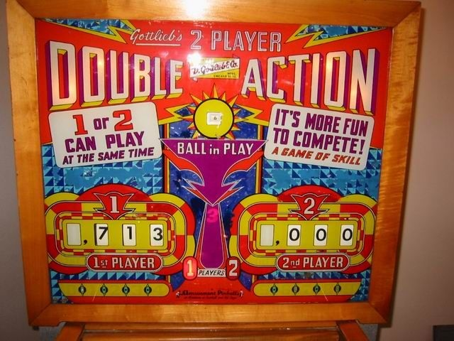 Double Action Pinball Mods