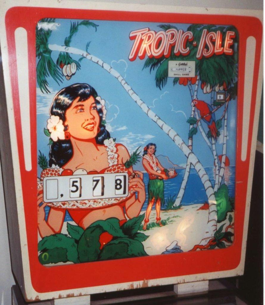 Tropic Isle Pinball Mods
