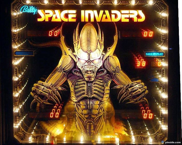Space Invaders Pinball Mods