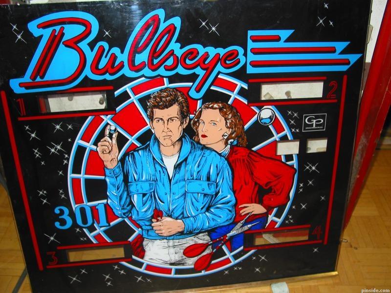 Bullseye 301 Pinball Mods