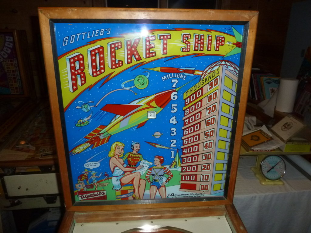 Rocket Ship Pinball Mods