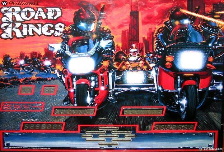Road Kings Pinball Mods