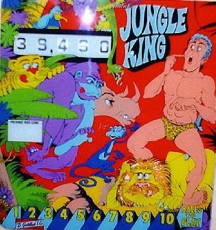 Jungle King Pinball Mods