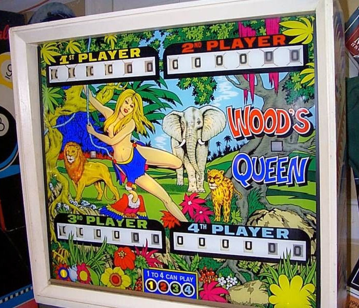 Wood's Queen Pinball Mods
