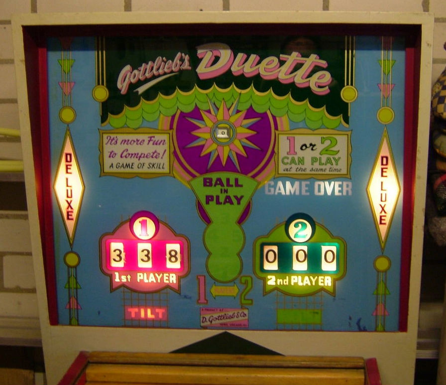 Duette Deluxe Pinball Mods