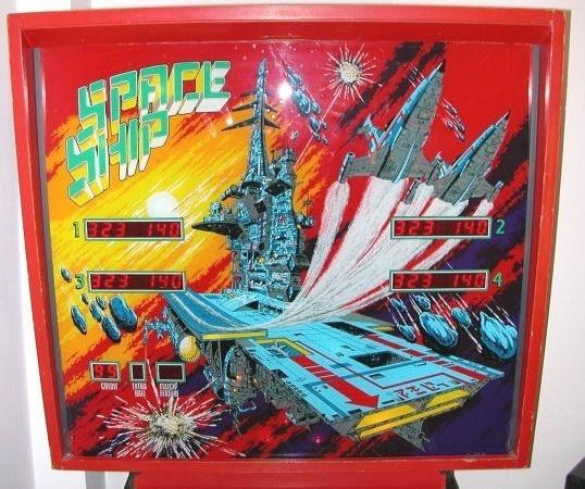 Space Ship Pinball Mods