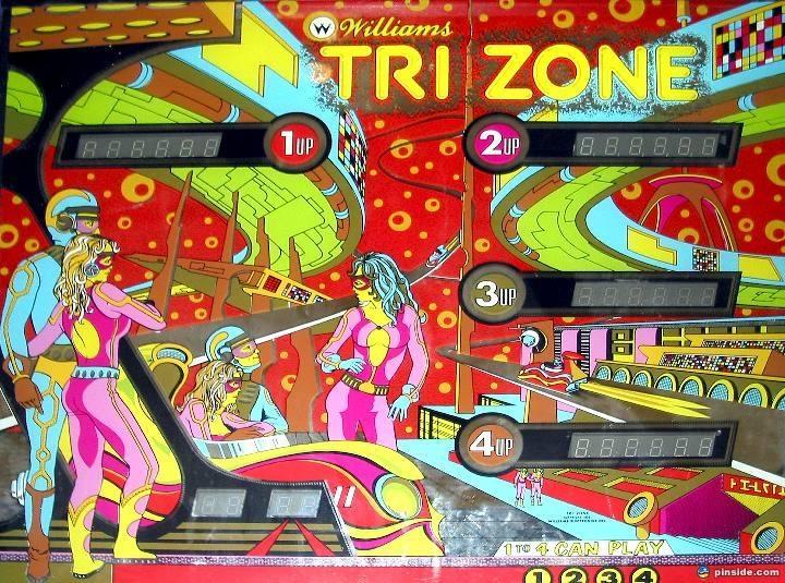 Tri Zone Pinball Mods