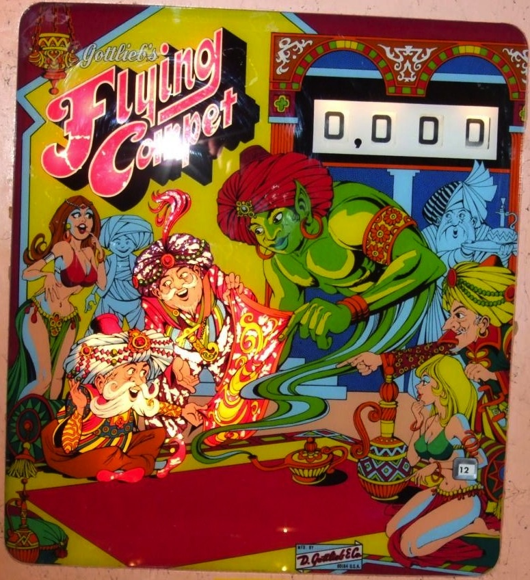 Flying Carpet Pinball Mods