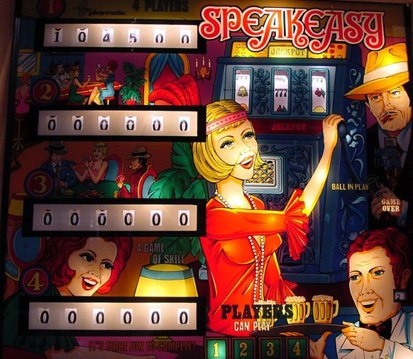 Speakeasy Pinball Mods
