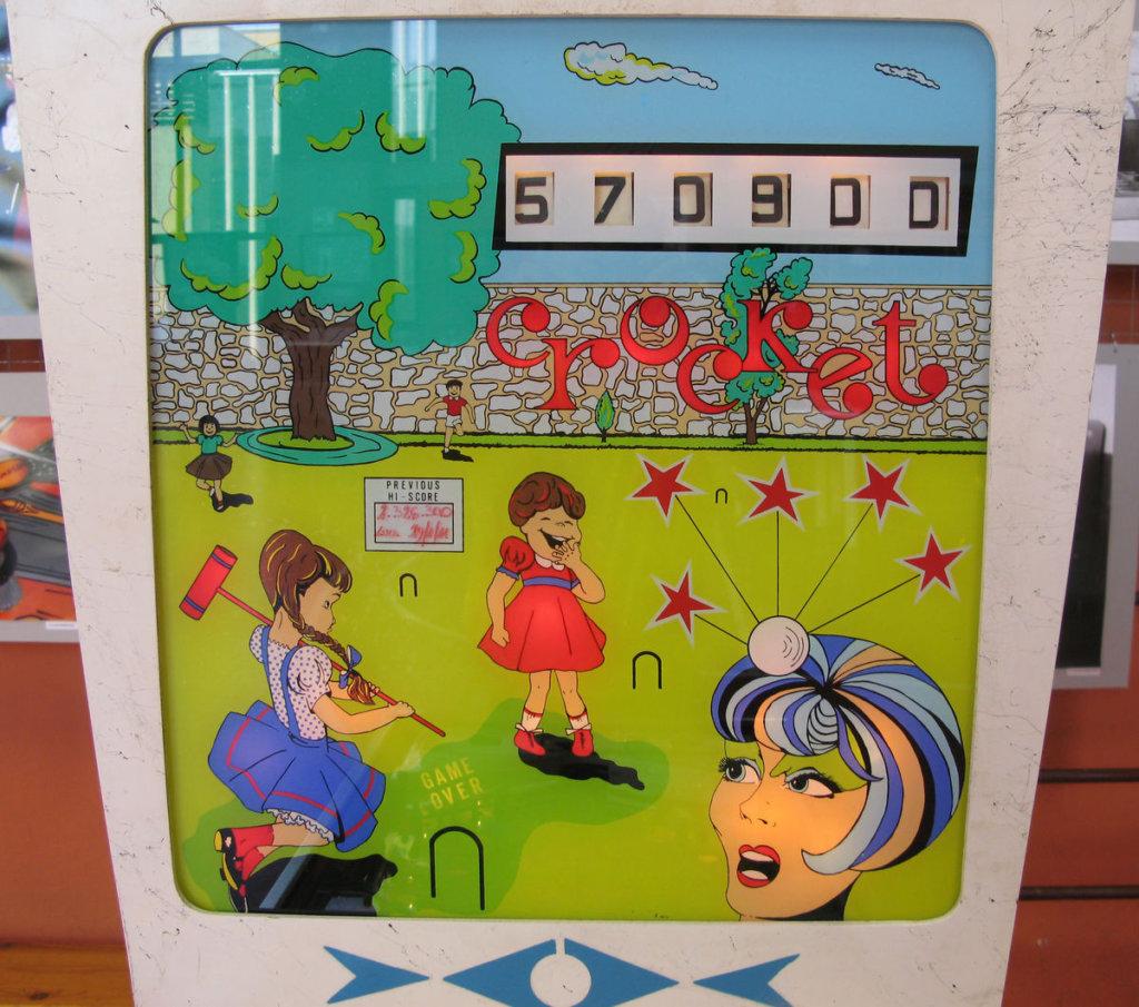 Crocket Pinball Mods