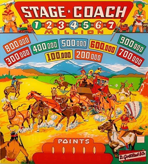 Stage Coach Pinball Mods