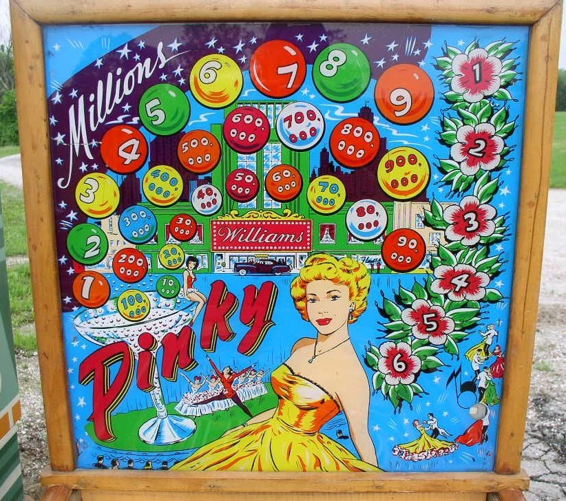 Pinky Pinball Mods