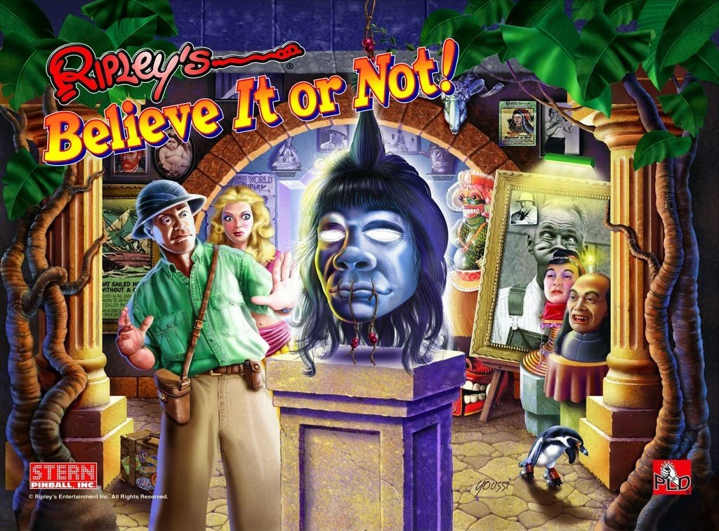 Ripley's Believe It or Not! Pinball Mods