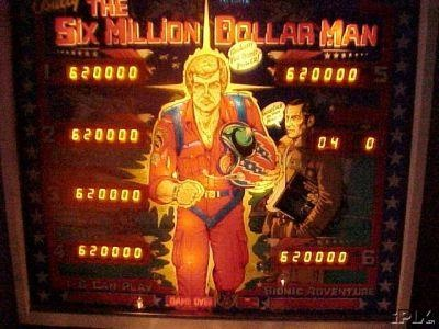Six Million Dollar Man, The Pinball Mods