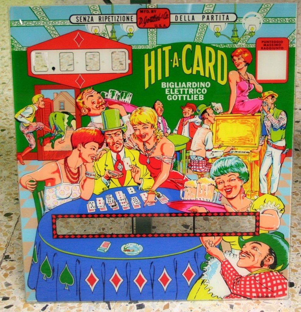 Hit-A-Card Pinball Mods