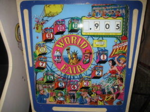 World Fair Pinball Mods
