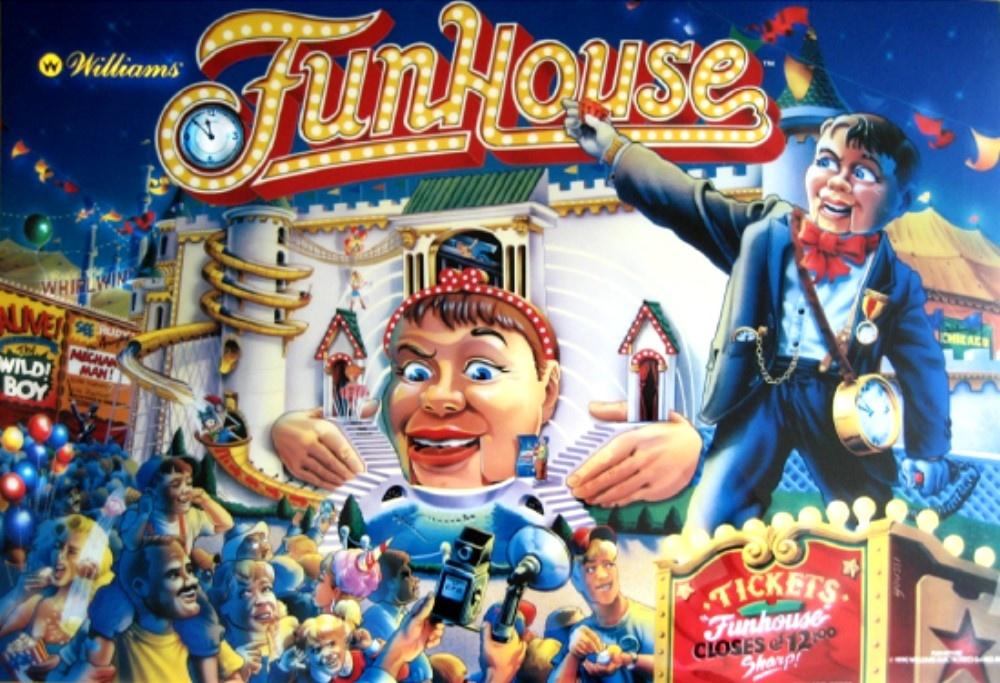 FunHouse Pinball Mods