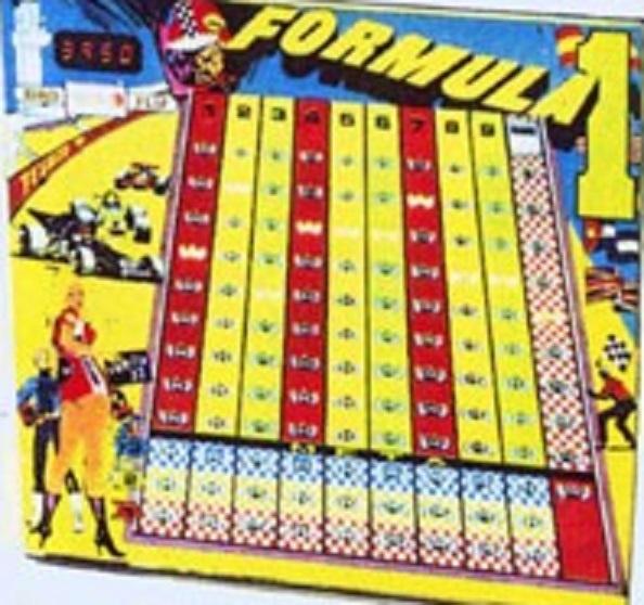 Formula I Pinball Mods