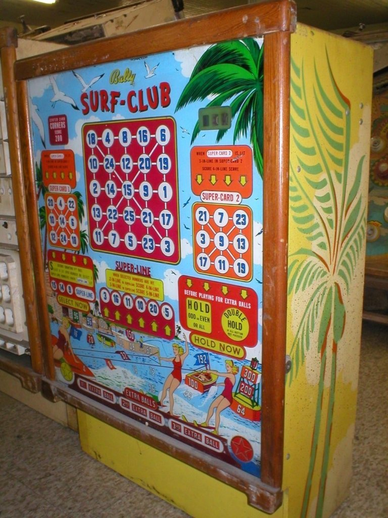 Surf Club Pinball Mods