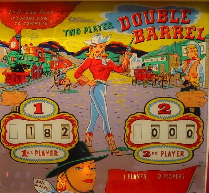 Double Barrel Pinball Mods