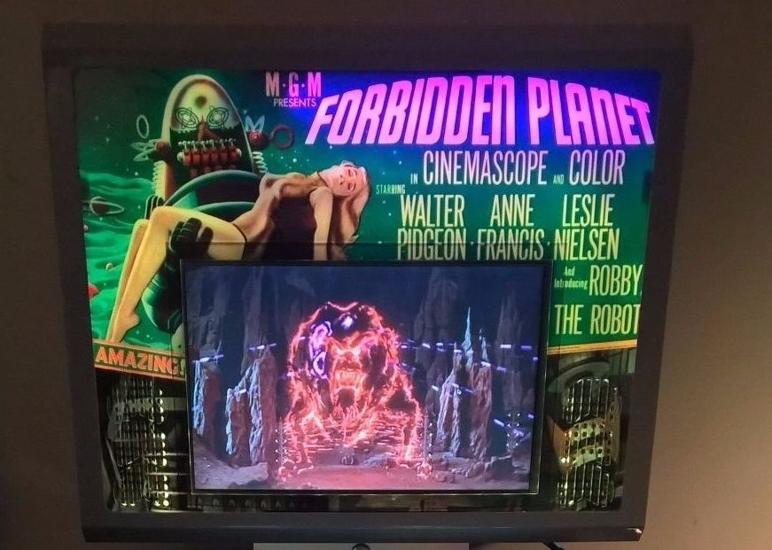 Forbidden Planet Pinball Mods