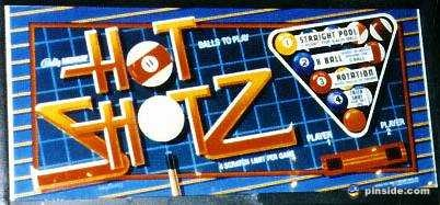 Hot Shotz Pinball Mods