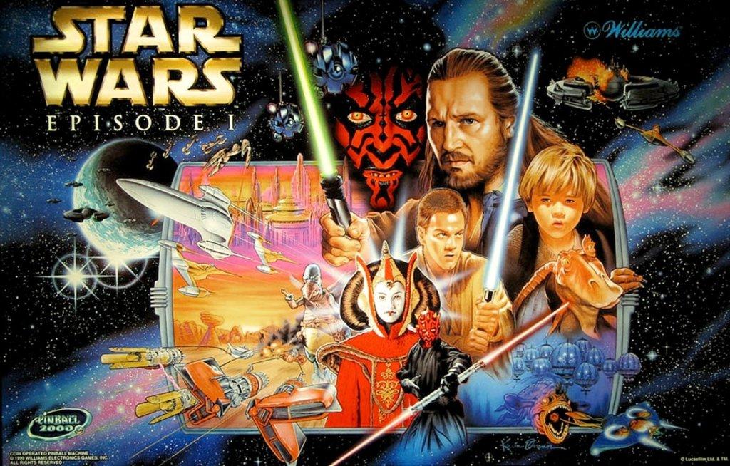 Star Wars Episode I Pinball Mods