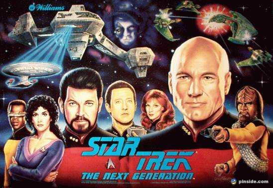 Star Trek: The Next Generation Pinball Mods