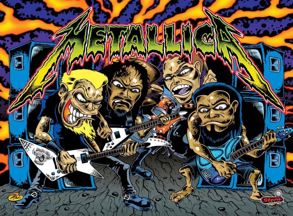 Metallica (Pro) Pinball Mods