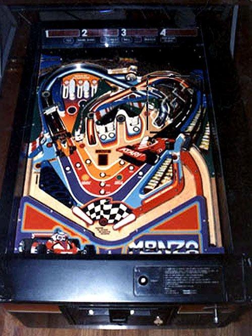 Monza Pinball Mods