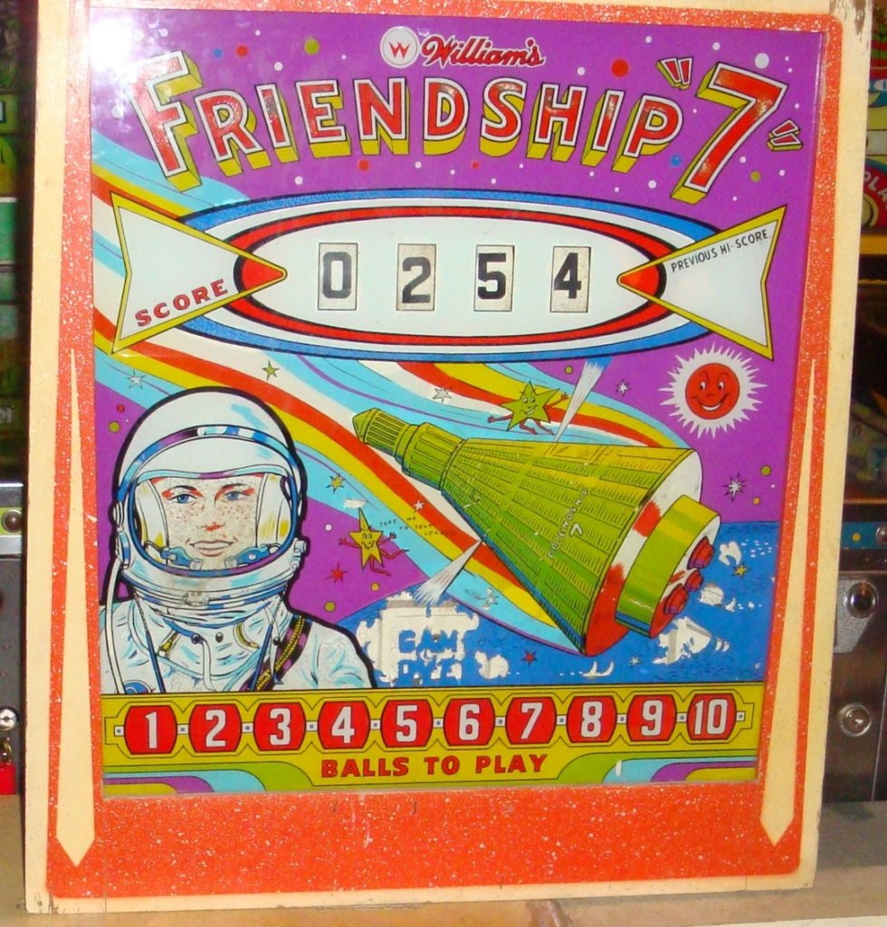 "Friendship ""7"" Pinball Mods"