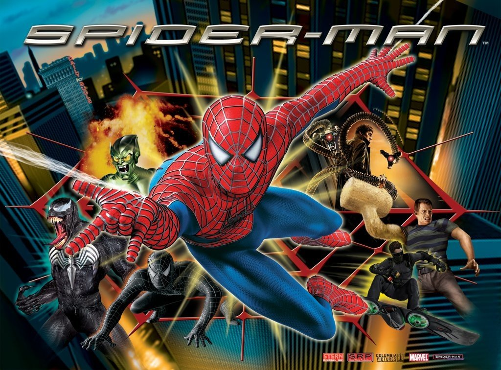Spider-Man Pinball Mods